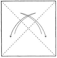 Оригами для детей - бабочка