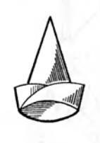 Оригами для детей Колпак Петрушки
