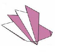 Оригами для детей Ежик