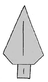 Оригами для детей Елочка