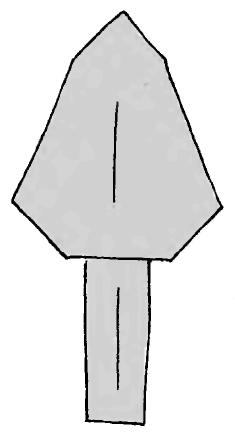 Оригами для детей Березка и Тополь