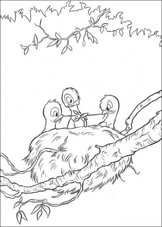 Детские раскраски Бемби
