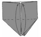Сердце Оригами для детей