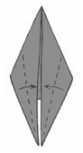 Ракета Оригами для детей