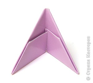 Модуль треугольник оригами