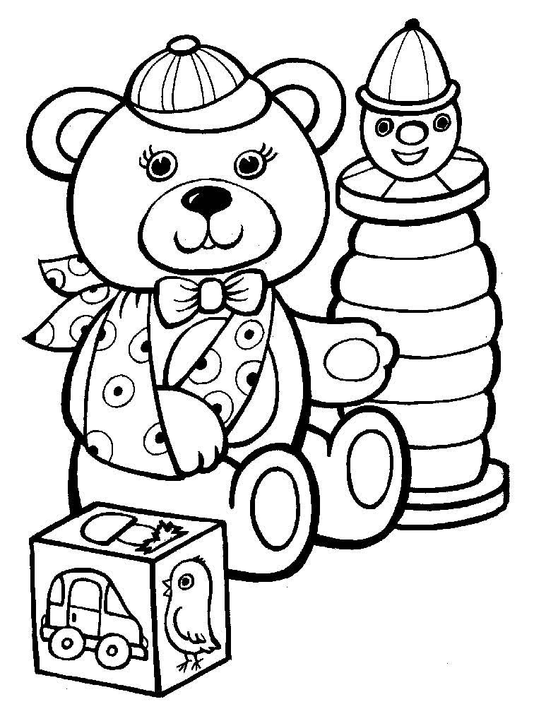 Скачать раскраски для детей 5 лет бесплатно - 4