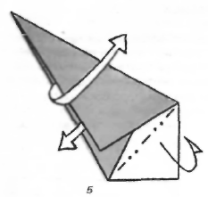 Оригами для детей Щенок с секретом