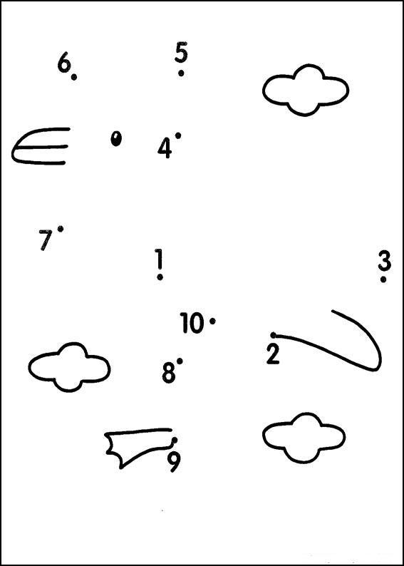 рисунки по цифрам: