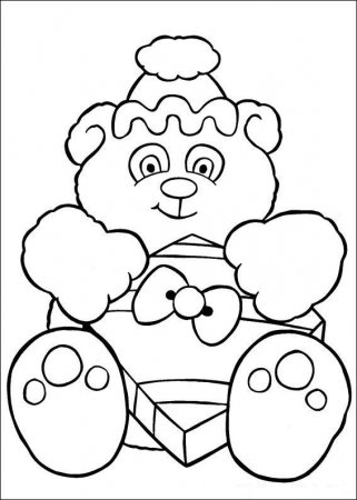 Новогодних раскрасок для детей