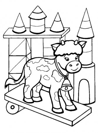 Очередная свежая подборка раскрасок для маленьких детей