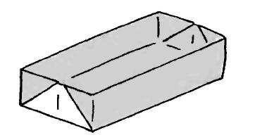 Оригами для детей Пенал
