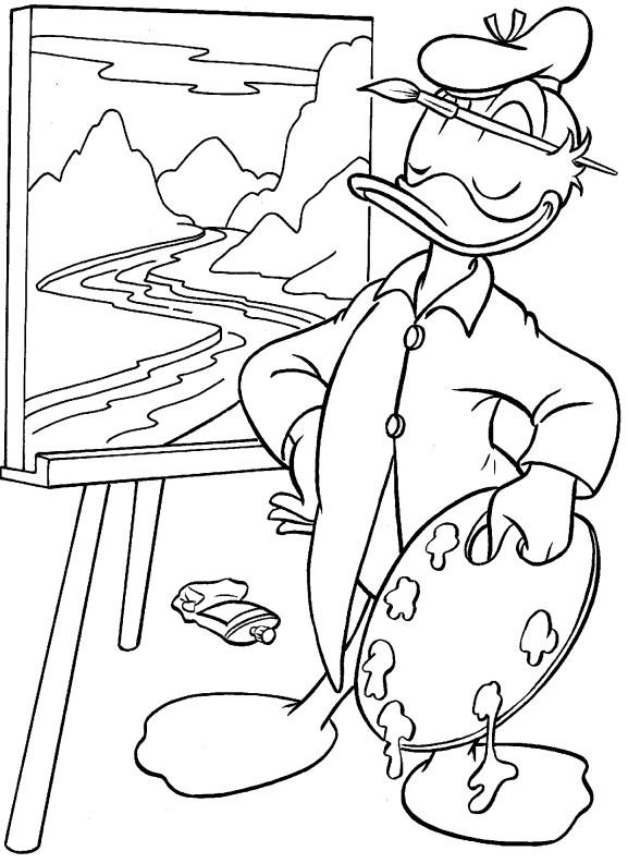 Раскраски с кисточкой детские бесплатно