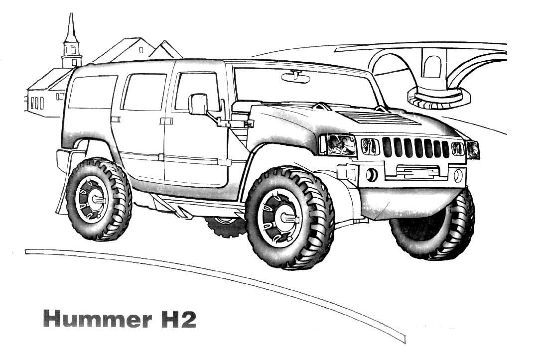 Dibujos Para Colorear De Carros Jeep ~ Ideas Creativas Sobre Colorear