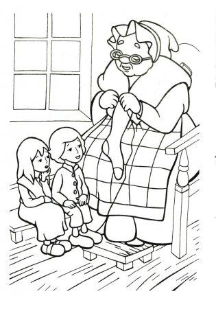 Раскраска для детей Снежная королева