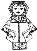 Житель Якутии схема оригами