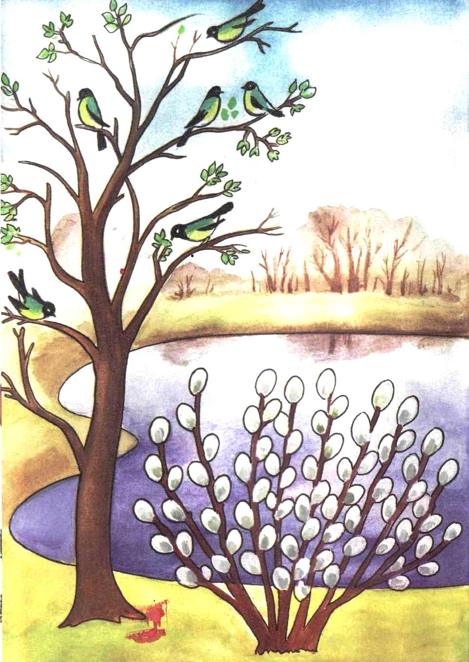 весна в картинках русских художников