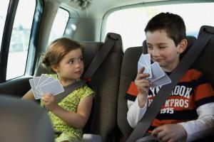 Чем занять ребёнка в дороге?