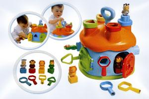 Развивающие игры малышам до года