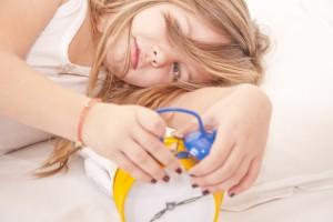 Утреннее пробуждение ребенка