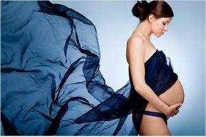Женщина  и девять месяцев жизни