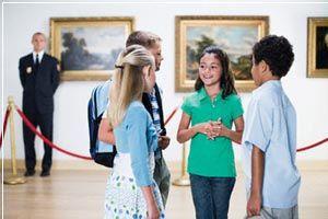 поиск знакомство детей с живописью