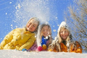 Зимние выходные с ребенком