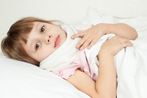 Уход за ребенком с ангиной