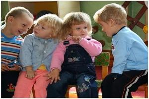 Проблемы наступают, когда ребенок идет в детский сад