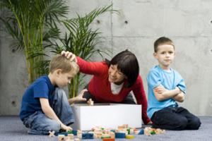 Наводим порядок в детской комнате