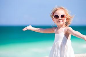 Защищаем детей от летнего солнца