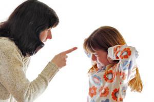 Запреты для родителей в воспитании детей