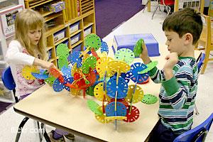 Процесс обучения в дошкольных учреждениях