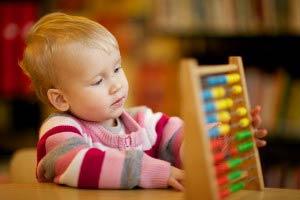 Как быстро научить ребенка считать?