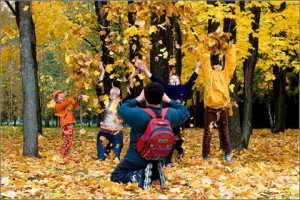 Как занять ребенка на осенних каникулах?