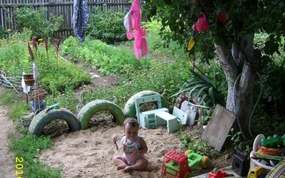 Как соорудить детский уголок на дачном участке