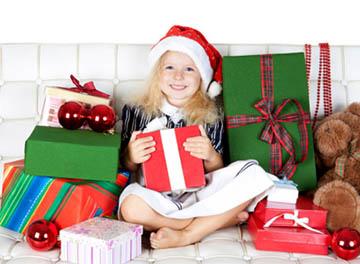 Подарок ребёнку на Новый год