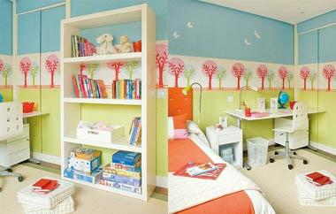 Как разместить вещи в детской комнате?