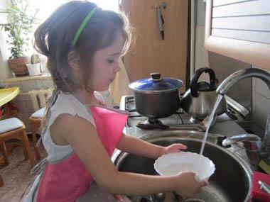 Приучаем детей к домашним обязанностям