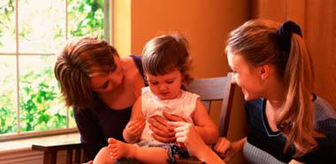 Не полюбит ли малыш няню больше чем маму